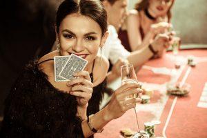 Woman-Gambling